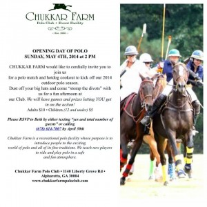 Opening Day of Polo in Alpharetta