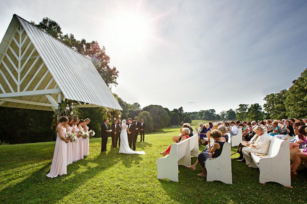 Outdoor Wedding Chapel