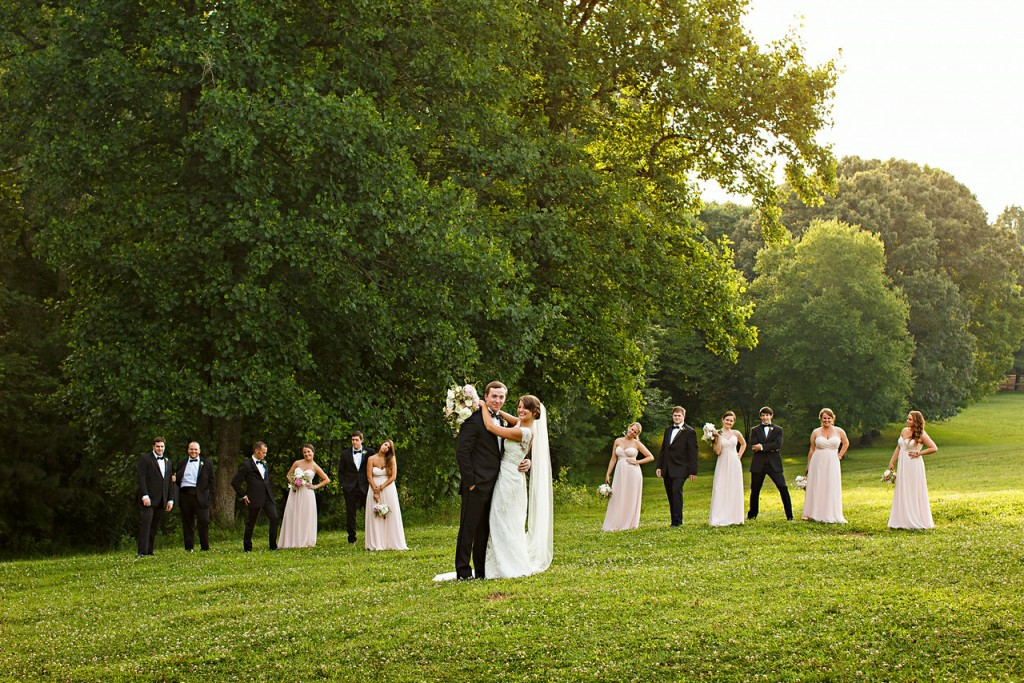 Pasture Wedding