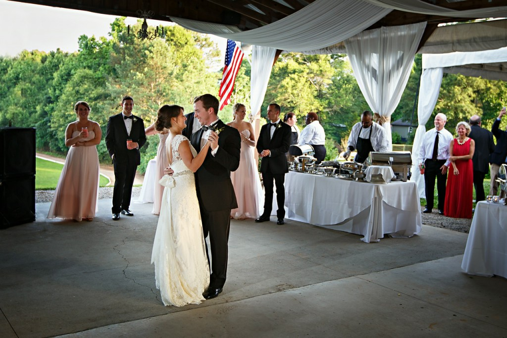 Wedding Reception in the Pavilion