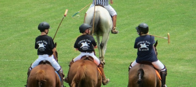 Youth Polo Team Plays Their First Chukkars