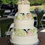 Beautiful 3 Tier Wedding Cake