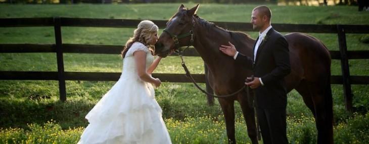 A Horse Lover's Wedding